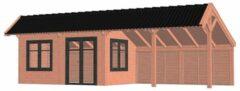 Van Kooten Tuin en Buitenleven Kapschuur De Heerd 980x425 cm - Combinatie 1
