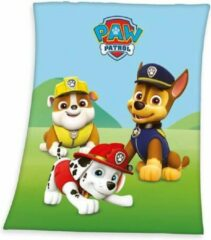 Disney Paw Patrol Plaid - 100% Polyester - 130x160 Cm - Multi