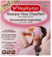 Megrhythm Verwarmend Oogmasker Geurloos 5 stuks