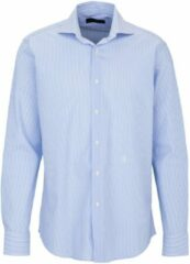 Blauwe Trussardi Heren Overhemd XL