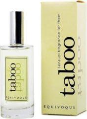 Transparante Taboo Equivoque Parfum Unisex 50 ML