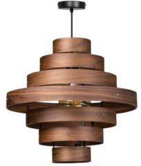 Expo Trading ETH HL Walnut- Hanglamp - 1 lichts - Ø 500 mm - bruin