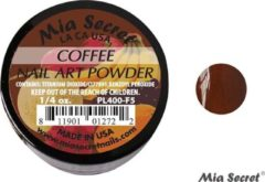 Bruine Mia Secret Fruity Acrylpoeder Coffee