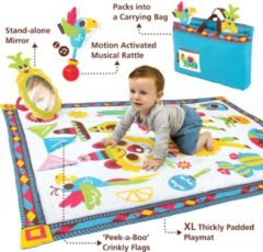 Yookidoo - Speeltapijt - Fiesta Playmat to Bag - 145x100 cm