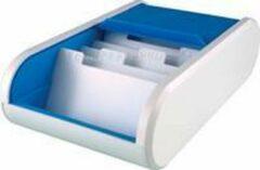 Witte Helit Visitenkartenbox 'the personal', blau-transluzent