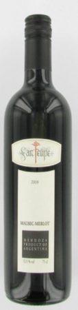 Afbeelding van San Felipe Merlot Malbec, 2018, Mendoza, Argentinië, Rode Wijn