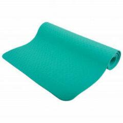 Schildkröt Fitness yogamat met tas 180 x 61 cm rubber groen