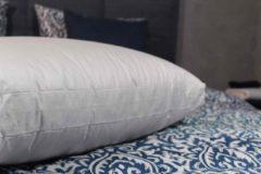 Witte Nuvaro Goose Comfort 90% Boxmodel Donzen hoofdkussen