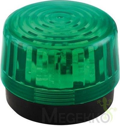 Afbeelding van Velleman HAA100GN Signaallamp LED Groen Flitslicht 12 V/DC