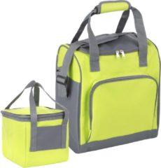 Basis Sterke Koeltas Set Set Van 25 + 10 Liter Coolerbag Groen