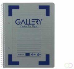 Gallery Traditional spiraalschrift formaat A5 gelijnd geassorteerde kleuren 160 bladzijden