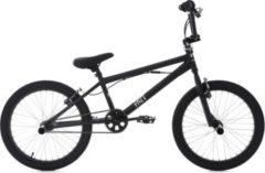 KS Cycling BMX Fahrrad, 20 Zoll, schwarz, »Fatt«