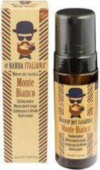 Barba Italiana Shaving Mousse - Monte Bianco
