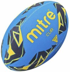 Blauwe Rugbybal Mitre Cub - Maat 3