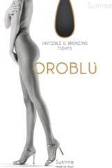 Beige Oroblu Sunny Dames Panty 8 denier - Huidskleur Sun - Maat 48/50