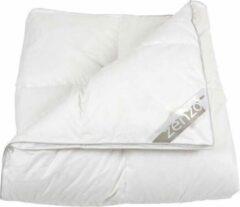 Witte Zenzo Robyn - Dekbed - Winterdekbed - Dons - Lits-jumeaux - 240x220 cm - Warmteklasse 2