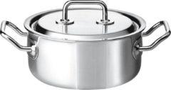 Grijze Spring Brigade Premium lage kookpan, Ø 20cm