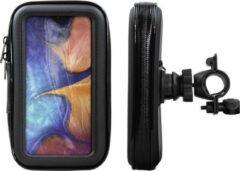 Shop4 - Samsung Galaxy A20e Fietshouder Stuur Spatwaterdicht Zwart
