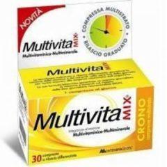 Montefarmaco otc Multivitamix crono senza zucchero e senza glutine 30cpr