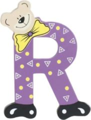 Paarse Playshoes Houten letter R
