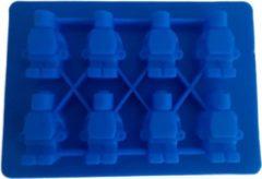 Rode Merkloos CE Bak - ijsvorm poppetjes - Chocolade - Ijsklontjes - Mousse