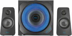 Trust GXT 628 2.1 Tytan LED 2.1 PC-luidsprekers Kabelgebonden 120 W Zwart, Blauw