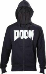 Zwarte Difuzed Doom Heren Sweatvest Maat S