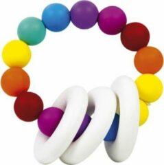 Witte Sillicone Bijtring voor Baby - Imaginarium - Veilig en Zacht
