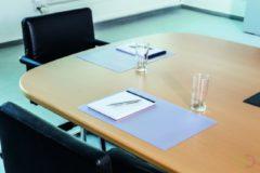 Durable Schrijfonderlegger v. conferentieruimte