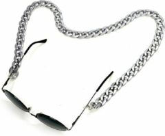 Fashion Favorite Zonnebril Ketting / Brillenkoord | Zilver | Acryl | 70 cm