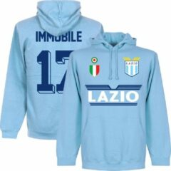 Retake Lazio Roma Immobile 17 Team Hoodie - Lichtblauw - XL