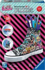 Ravensburger Spieleverlag Ravensburger Sneaker L.O.L. Surprise - 3D Puzzel - 108 stukjes