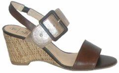 Caprice sandalet 37,5 (UK 4,5) bruin