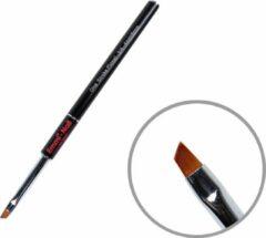 Zwarte Emmi-Nail One Stroke Pinsel ¾ - 4mm/6mm