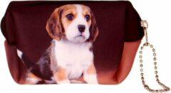 Zwarte S.Y.W Kleine etui/klein toilettasje Beagle