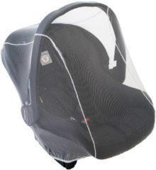 Transparante Altabebe - Insectennet Autostoeltje Universeel - Muggennet Maxi-Cosi –Muskietennet voor baby autostoeltjes groep 0 en 0+ - Universele Baby Klamboe - Wit