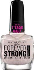Lichtpaarse Maybelline Forever Strong Nagellak - 740 Beige Sparkles