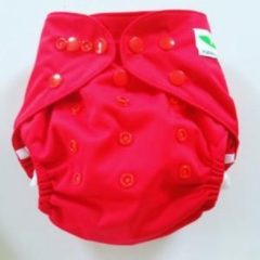 Merkloos / Sans marque O6 One Size Overbroekje rood