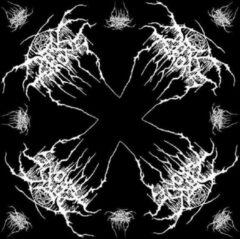 Rock Off Darkthrone Bandana Logo Zwart