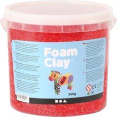 Creativ company Foam Clay - Klei - 560 gr -Rood