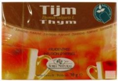 Soria Natural Soria Tijm Tomillo Thee (20st)