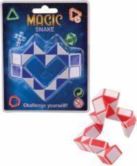 Johntoy Puzzel Magische Slang Zwart/wit