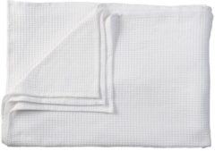 Witte KAAT Amsterdam Maud - Bedsprei - Eenpersoons - 180x260 cm - White