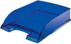 Leitz brievenbakje Plus 5226 blauw transparant