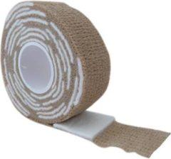 Merkloos / Sans marque Gellak remover wrap, beige. Voor het verwijderen van Gellak / Gel polish / Soak off gel / gel nagellak