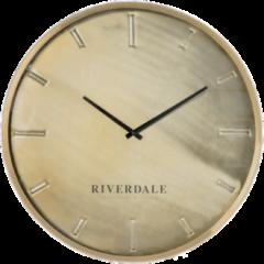 Riverdale Wandklok Chuck brons 60cm