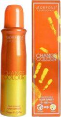 Morfose - Change Colour - Haarspray - Haarkleur Spray - Oranje naar Geel