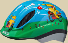 KED Meggy Originals Kinder Fahrradhelm Kopfumfang S 46-51 Felix der Hase