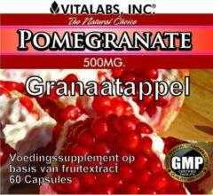 Vitalabs VitaTabs Granaatappel - 500 mg - 60 capsules - Voedingssupplementen