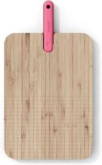 Trebonn Artu snijplank van bamboe met broodmes 43 cm